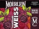 Christian moerlein 1000 Weiss beer