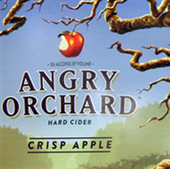 Angry Orchard Easy Apple beer Label Full Size