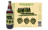 Knee Deep Simtra Triple IPA Beer