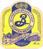 Brooklyner Schneider Hopfen-Weisse Beer