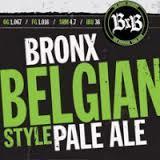 Bronx Belgian Ale beer