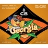 CB Craft Brewers Georgia Peach Beer beer Label Full Size