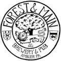 Forest & Main Saison Jus beer