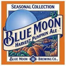 Blue Moon Pumpkin Ale beer Label Full Size