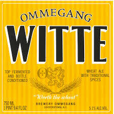 Ommegang Witte Wheat beer Label Full Size