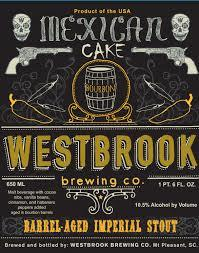 Westbrook Mexican Cake beer Label Full Size