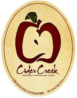 Cider Creek Premium Farmhouse Cider beer Label Full Size