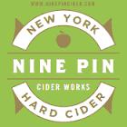 Nine Pin Glass Half Full Cider beer