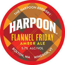 Harpoon Flannel Friday beer Label Full Size