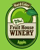 Uncle John's Apple Cider beer Label Full Size