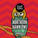 Right Brain Hawk Owl Amber beer