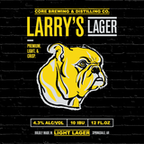 Larry's Lager beer