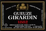 Girardin Gueuze 1882 Black Label beer