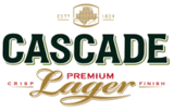 Cascade Premium Lager beer