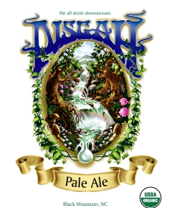 Pisgah Pale Ale beer Label Full Size