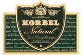 Korbel Natural wine