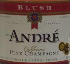 André Blush Pink beer Label Full Size