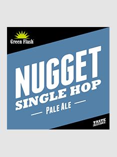 Green Flash Single Hop Nugget beer Label Full Size