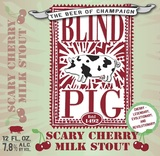 Blind Pig Scary Cherry Milk Stout Beer