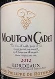Mouton Cadet Bordeaux Red wine