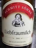 Schmitt Söhne Liebfraumilch wine