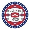 Moustache Franco 'Murica beer