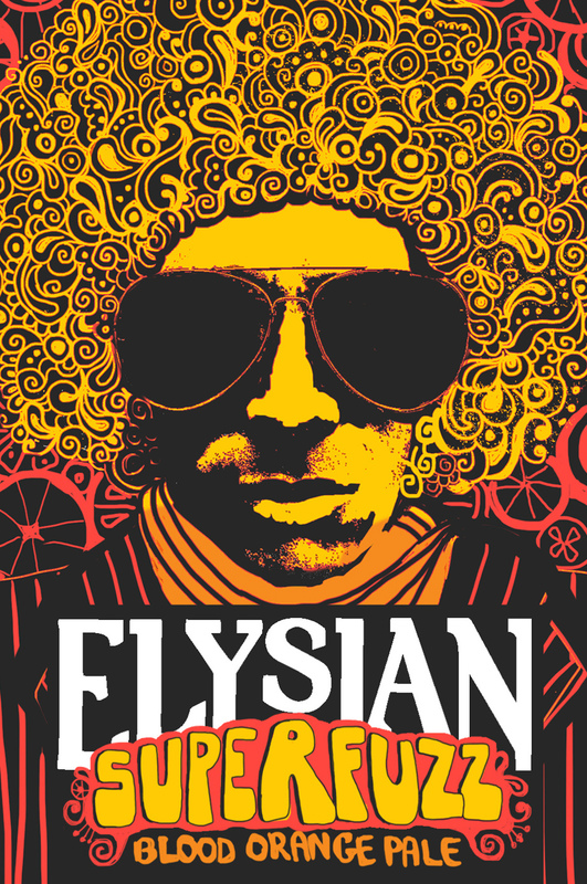 Elysian Superfuzz Blood Orange Beer