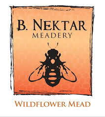 B. Nektar Wildflower Mead beer Label Full Size