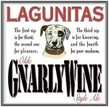 Lagunitas Gnarlywine beer