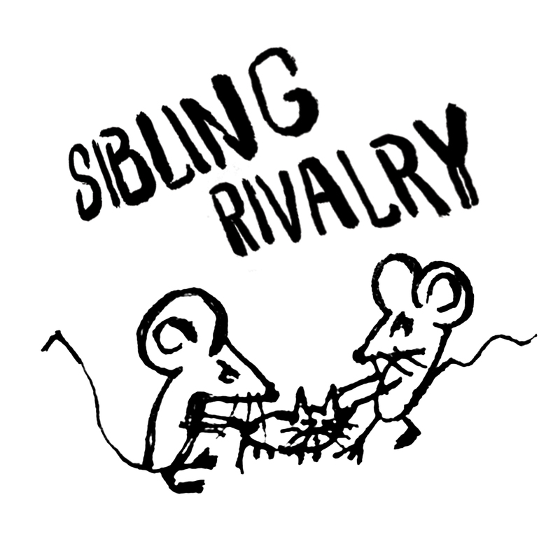 photo of off color sibling rivalry beer label - Off Color Cartoons