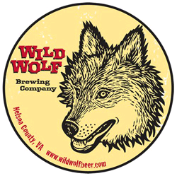 Wild Wolf Blond Hunny Ale beer Label Full Size