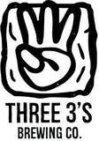 Three Threes Blueberry Saison beer