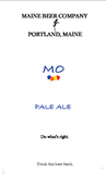 Maine MO Pale Ale Beer