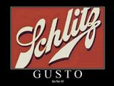 Schlitz Gusto beer