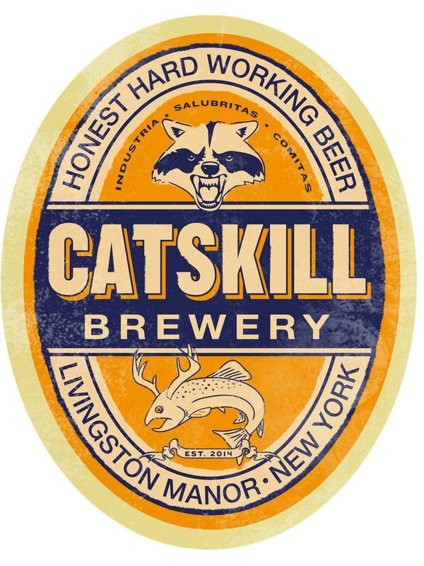 Catskill Double IPA beer Label Full Size