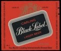 Carling Black Label beer Label Full Size