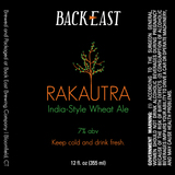 Backeast Rakautra Beer