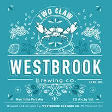 Westbrook Two Claw Rye IPA beer Label Full Size
