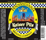 Penn Kaiser Pils beer