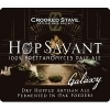Crooked Stave Hop Savant Brettanomyces IPA beer Label Full Size