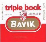 Bavik Triple Bock beer