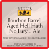 Bell's Bourbon Barrel Aged Hell Hath No Fury ... Ale beer
