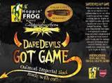Hoppin' Frog / Cigar City DareDevils Got Game beer