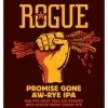 Rogue Promise Gone Aw-Rye IPA Beer