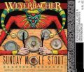 Weyerbacher Sunday Mole Stout beer Label Full Size