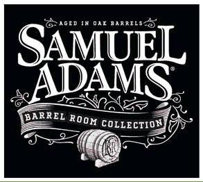 Sam Adams Stony Brook Red beer Label Full Size
