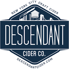 Descendant Pomegranate & Ginger beer Label Full Size