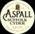 Mini aspall draught suffolk cyder