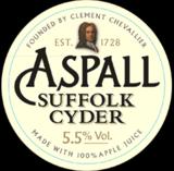 Aspall Draught Suffolk Cyder beer