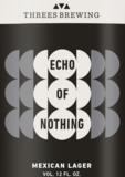 Threes Echo of Nothing beer